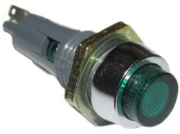 Kontrolka T6e/12 oranžová pro telefonní žárovku T5,5