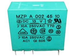 Relé MZP A 002 45 10 - 250V/10A / BAZAR