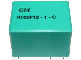 Relé H100F12-1-C 12V 10A (128VAC/10A) 22×17×15mm