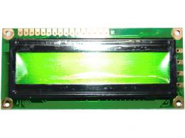 DV-16100 S1RB - LCD displej 1x 16 znaků