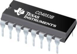 4053 3x 2kanál analog.MX/DEMX *