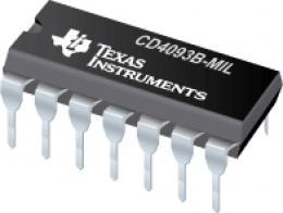 4093 4x 2vstup.NAND Schmitt, DIL14 /CD4093/  *