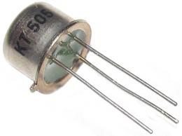 Tyristor KT505 400V/1A TO39 #