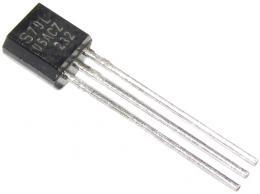 79L05 stabilizátor  -5V/0,1A TO92 *