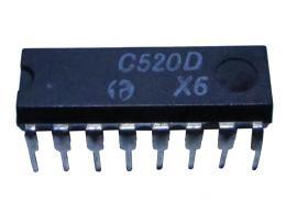 C520D A/D převodník s výstupy BCD, DIL16 *