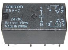 Relé OMRON G5V-2 20x10x11mm