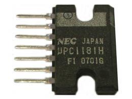 uPC1181H3, NF zesilovač 5,8W, SILP7