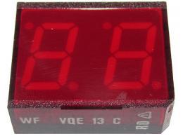 VQE13C zobrazovač 88 červený BAZAR