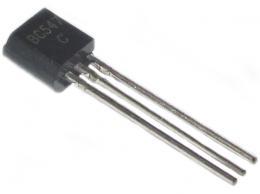 BC547C N UNI 45V/0,1A 0,5W      TO92 *