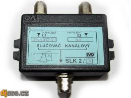 Slučovač kanálový IVO SLK 2/3 - kanály 36, 50, 53 + 48 BAZAR