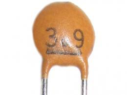 3p9/50V - keramický kondenzátor