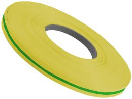 Smršťovací bužírka 3,0/1,5mm žlutozelená - stříháno po 12,5 cm