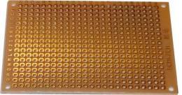 Univerzální DPS 5x7cm, 432p, RM2,54mm, vrtaná