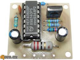 Elektronická siréna s kolísavým tónem - STAVEBNICE