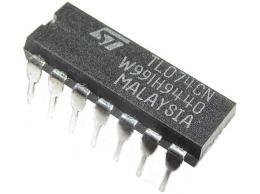 TL074 4xOZ J-FET DIL14 nízkošumový