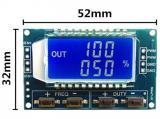 PWM generátor 1Hz-150kHz s LCD displejem