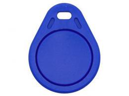 RFID přístupový čip 125kHz, přívěšek, modrý