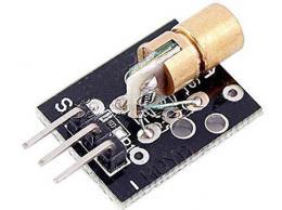 Laser 5V/650nm s optikou - modul KY-008