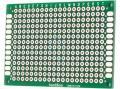 Univerzální DPS 6x4cm, 280p, RM2,54mm, vrtaná, cínovaná