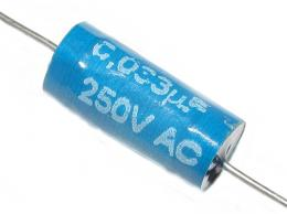 33n/250V TC206-svitkový kondenzátor ELSTER *