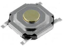 Mikrospínač SMD 5,2x5,2x1,5mm *
