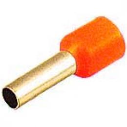 Dutinka pro kabel 1mm2 červená (E1010)