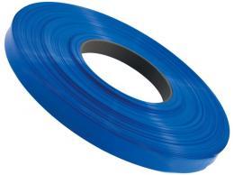 Smršťovací bužírka 3,5/1,75mm modrá  - stříháno po 12,5 cm
