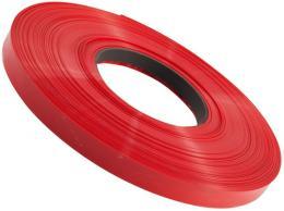 Smršťovací bužírka 6,0/3,0mm červená  - stříháno po 12,5 cm