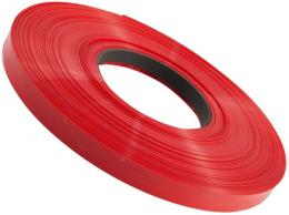 Smršťovací bužírka 8,0/4,0mm červená - stříháno po 12,5 cm