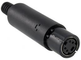 MINIDIN zdířka 4 pin na kabel