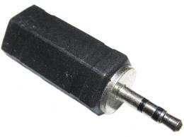 Redukce JACK 2,5 stereo konektor / JACK 3,5 stereo zdířka
