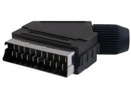 SCART konektor 21pin na kabel *