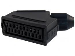 SCART zdířka 21pin na kabel *