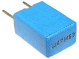 470n/63V TC350-svitkový kondenzátor radiální