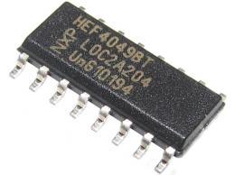 4049 6x budič invertující SMD
