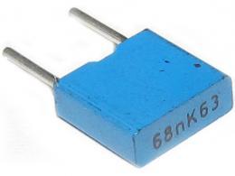 68n/63V CF2 MKT kond.svitek radiální RM5 =TC351