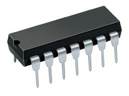 74HC4024 - 7 stupňový binární čítač, DIP14