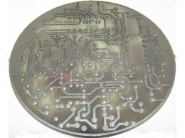 Otáčkoměr s diodami kulatý - PLOŠNÝ SPOJ