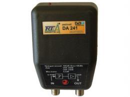 Domovní zesilovač DA241 širokopásmový, F konektory POUŽITÝ
