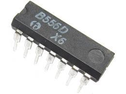 B556D - dvojitý časovací obvod, analog LM556