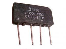 B250C5000-3300 diodový můstek 250V 5A-3.3A sklad 4ks