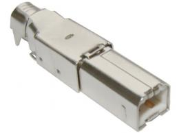 USB konektor TYP B kabelový (zalévací - bez krytu)